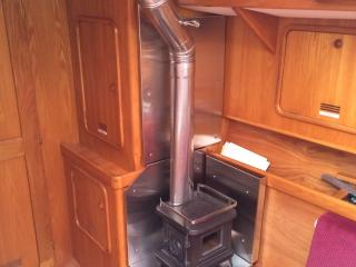 stove, installed