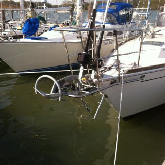 Custom bowsprit for sailboat